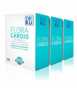 Probiotiques FLORA CARDIO (Pack 3 x 2) Traitement 3 mois