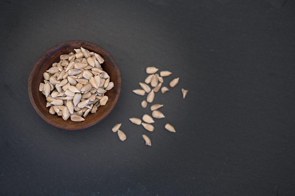 Semillas de girasol, uno de los alimentos que levantan el ánimo